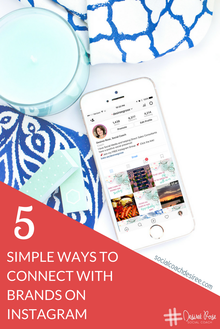 So you want to get the attention of brands on Instagram? Maybe even get regrammed? Here are 5 Simple Ways to Connect with Brands on Instagram.
