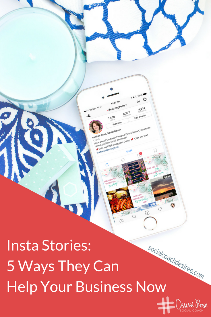 Insta stories... You know of them but are you effectively using them for your business? Here are 5 ways you can start using Insta stories now.