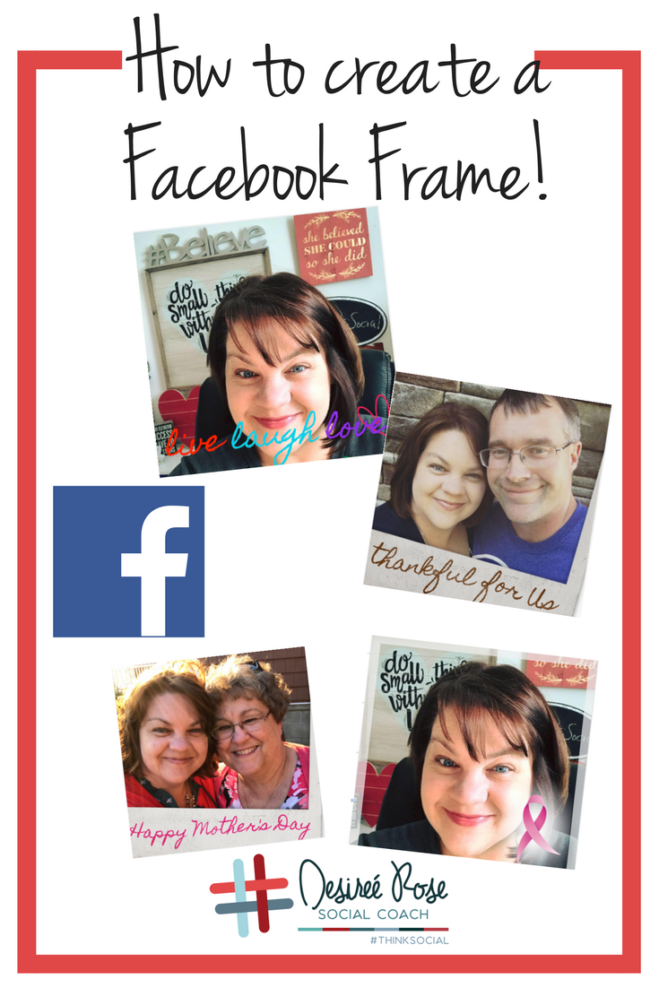 Create a custom Facebook Frame
