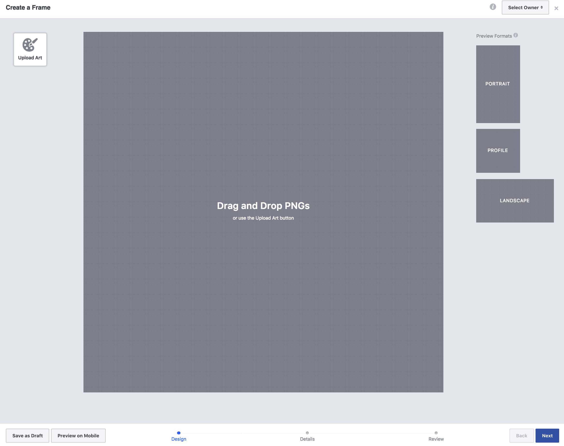 Facebook Overlay Frames - Social Coach Desiree