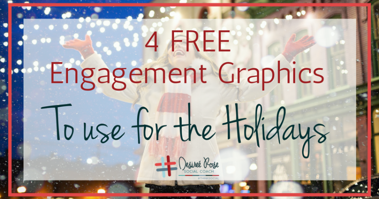 Make your Holiday Feed Engaging!