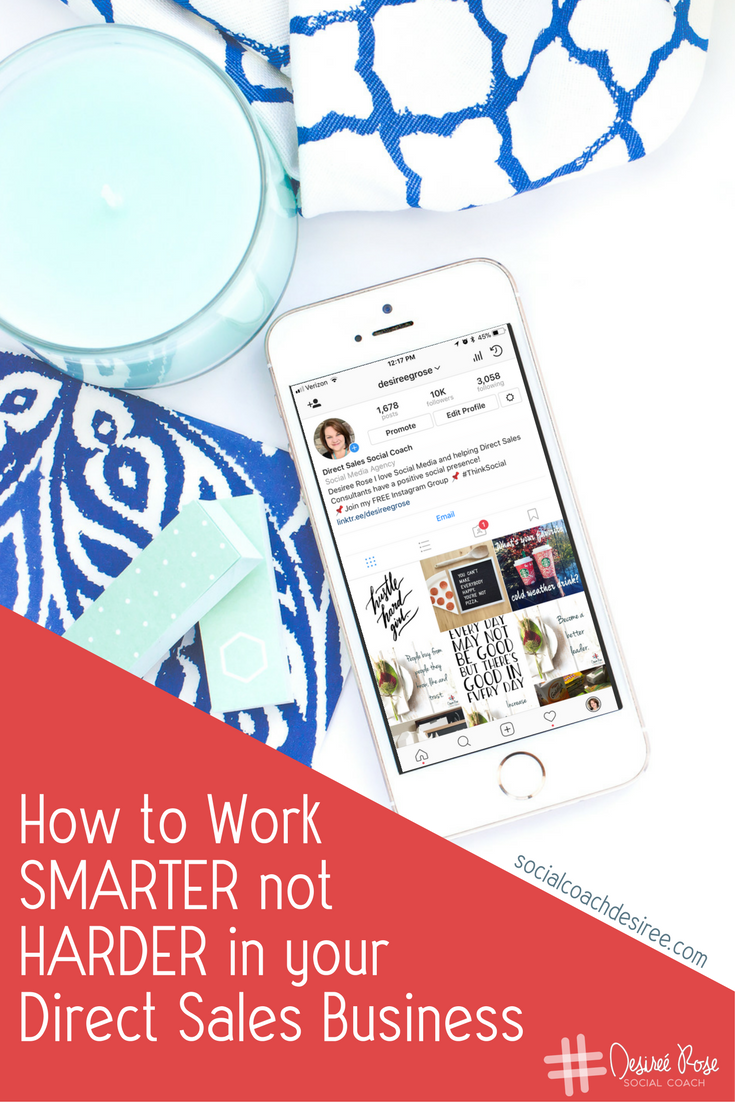 Life after the Holidays? Yes, it's possible to work smarter, not harder and balance your life and your business... Here's a little secret that I use!