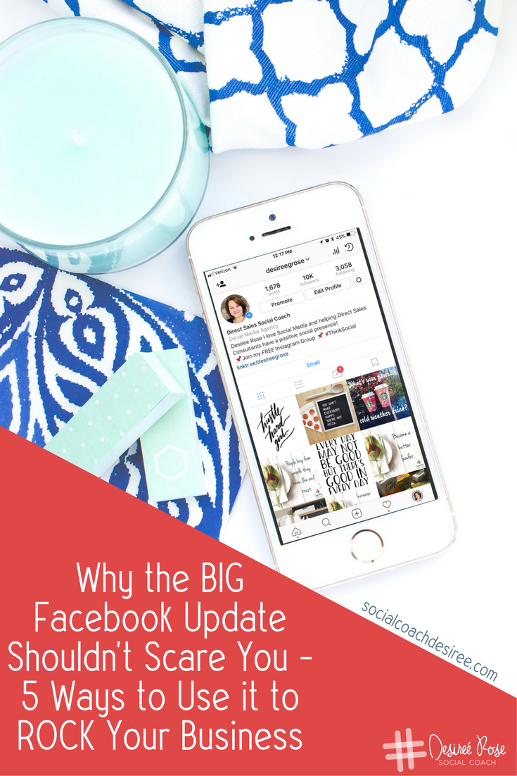 The BIG Facebook Update shouldn't scare you.  Find out why it's actually a good thing that Facebook is focusing on engagement now.