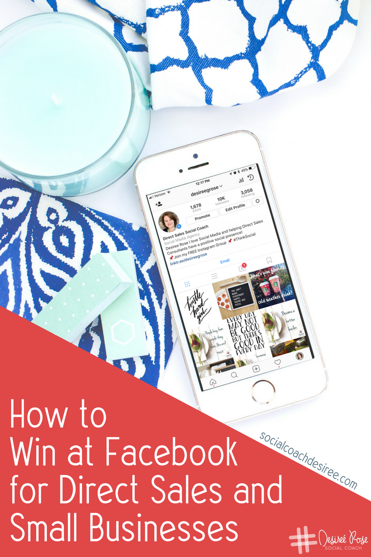 Facebook is an amazing platform that provides endless ways to connect with your ideal client. Let's talk about how to use Facebook for Direct Sales and for Small Businesses in a way that is authentic and true to your passion!