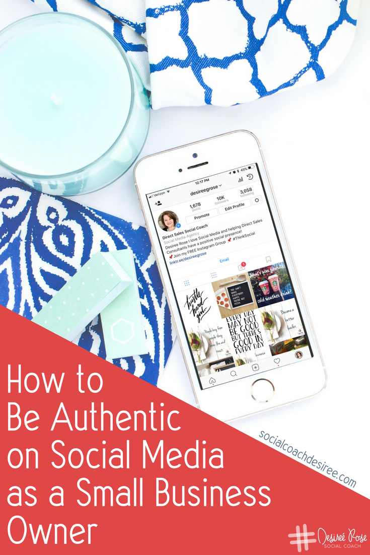 Are you struggling to be authentic in your Direct Sales or Small Business? I hear you - Authenticity is hard enough in real life with real, physical people. It's a whole other world online, and being authentic is a challenge.