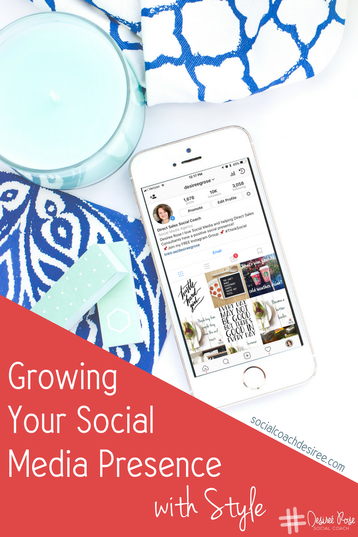 Growing your social media presence means providing value and increasing your engagement, not just collecting followers for the sake of having followers.