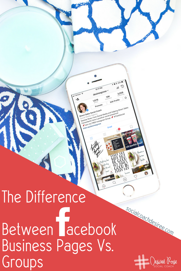 Confused about Facebook Business Pages Vs. Groups? We'll explore the gray areas and break down the differences so you can be confident that you are using your social media tools to the greatest advantage for your small business!