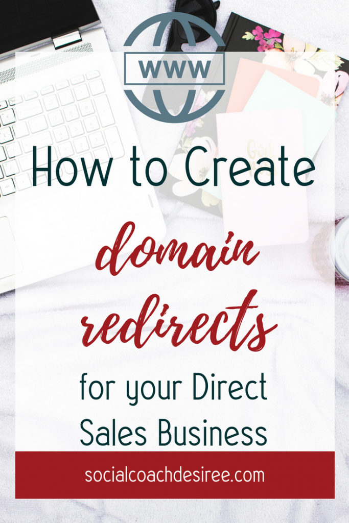 Redirecting Domains for your direct sales business