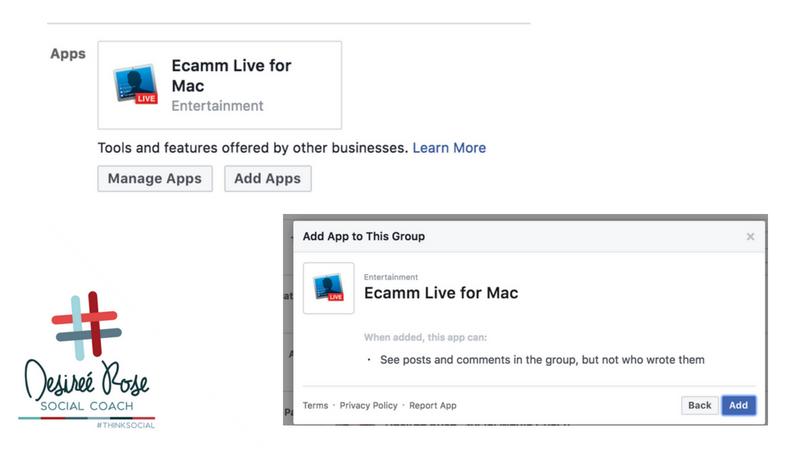 App Permissions in Facebook Groups