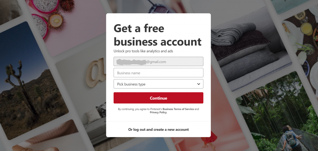 Free Account Upgrade for Pinterest