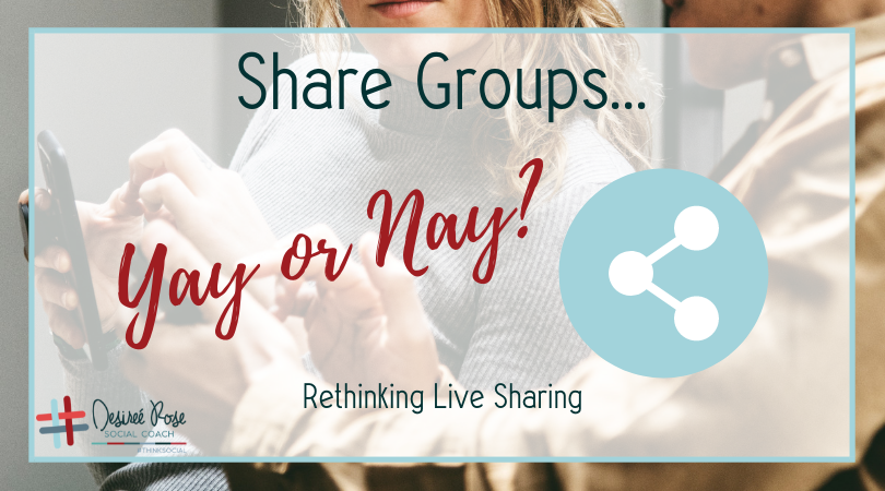 Share Groups…Yay or Nay?