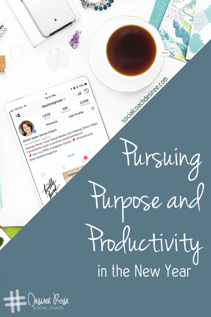 Pursuing Purpose in the New Year with Intention