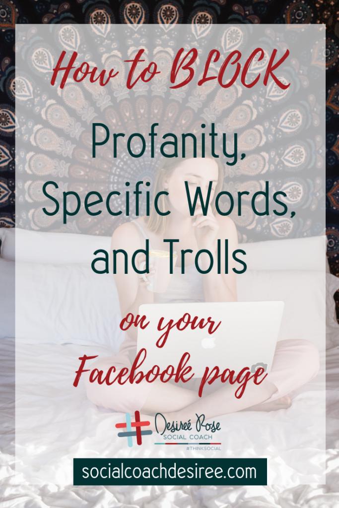 Blocking trolls on Facebook Like